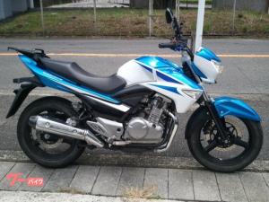 スズキ/GSR250 キャリア・カスタムレバー・メットホルダー