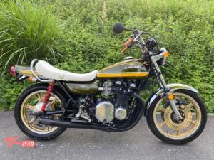 カワサキ/Z-II RS キャストホイール タイガーカラー 昭和50年モデル