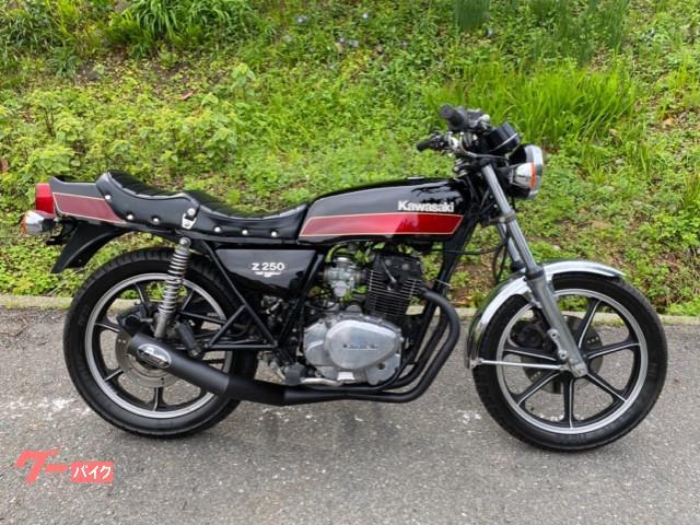 カワサキ Z250FT E4カラーの画像(福岡県