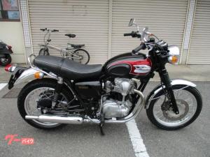 カワサキ/W650 純正アップハン