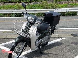 ホンダ/スーパーカブ50 4サイクル インジェクション 前かご リアボックス付き