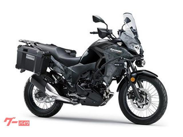 カワサキ VERSYSーX 250 ツアラー ABS パニアケース エンジンガードの画像(鹿児島県