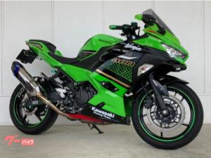 カワサキ/Ninja 400 KRTエディション 2020年モデル ETC2.0 トリックスターサイレンサー スペアキーあり