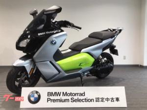 BMW/Cエヴォリューション 2018年モデル 軽二輪登録 リバースアシスト TFT液晶 LEDライト BMW認定中古車 スペアキーあり