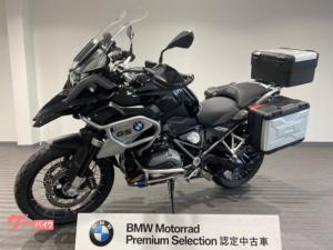 BMW/R1200GS プレミアムライン 2016年モデル 純正OPアクラポサイレンサー 3点パニア LEDフォグ他カスタム 認定中古車