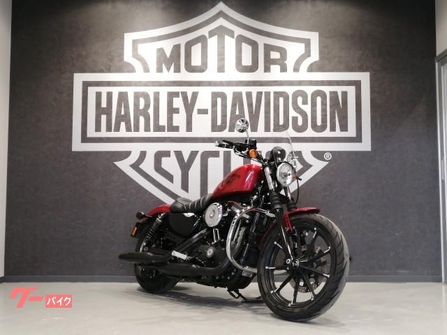 HARLEY-DAVIDSON XL883N アイアン 2018年モデル ETC2.0 スクリーン サドルバッグ エンジンガード スペアキーありの画像(福岡県