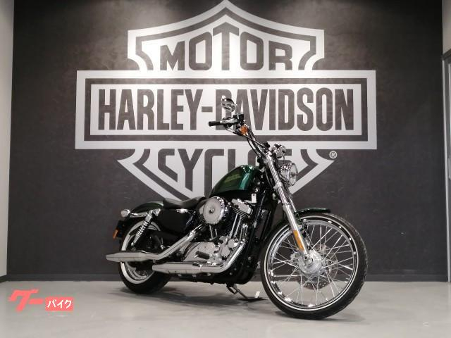 HARLEY-DAVIDSON XL1200V セブンティーツー 2013年モデル ETC サドルバッグ ラッキーグリーンフレーク チョッパースタイルの画像(福岡県