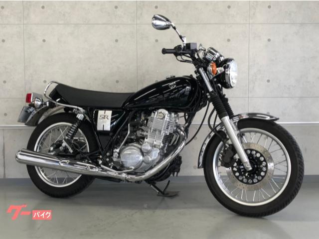 ヤマハ SR400 2019年モデル キックオンリー 前後ドラレコ パフォーマンスダンパー 空冷シングルの画像(福岡県