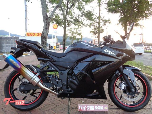 カワサキ Ninja 250R マフラーの画像(福岡県