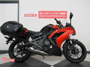 カワサキ/Ninja 400 純正サイドパニア付 ブラックオレンジ