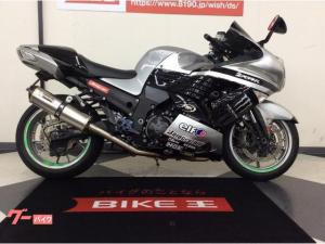 カワサキ/ZZ-R1400 TWOブラザーズマフラー・バックステップ・スクリーン