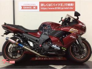 カワサキ/ZZ-R1400 逆車・カスタム二本出しマフラー・Fフェンダ・Rカーボンインナフェンダ・スモークウィンカレンズ