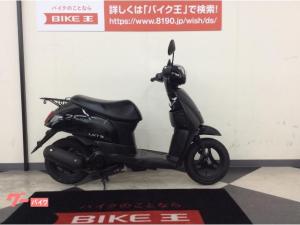 スズキ/レッツ FIモデル・日本製 メットイン収納 ブラック