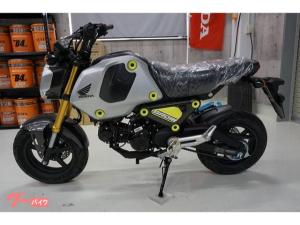 ホンダ/グロム 2021NEWモデル 5速ミッション仕様 シルバー新車