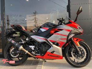 カワサキ/Ninja 400 ヨシムラマフラー ワンオーナー車 2018年モデル