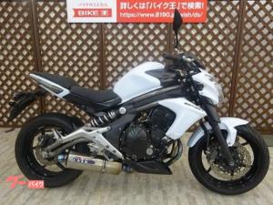 カワサキ/ER-6n  ワンオーナー OVERレーシングマフラー