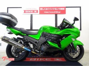 カワサキ/Ninja ZX-14R NOJIMAマフラー TRICKSTARエンジンスライダー