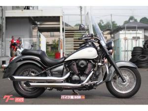 カワサキ/バルカン900クラシック 大型スクリーン・エンジンガード装備