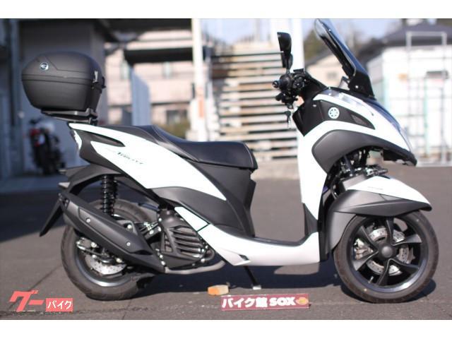 ヤマハ トリシティ155  2018年モデル リアBOX装備の画像(宮城県