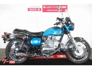 カワサキ/エストレヤ FI 2014年モデル スクリーン・エンジンガード・サドルバッグ装備