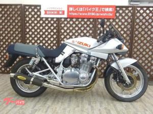 スズキ/GSX1100S KATANA 1999年モデル ユニコーンマフラー搭載 ノーマルマフラー有り