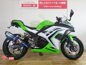カワサキ/Ninja 250 2016年モデル BEETナサートマフラー フェンダーレスキット搭載