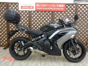 カワサキ/Ninja 400 2014年モデル USBポート TOPボックス付き