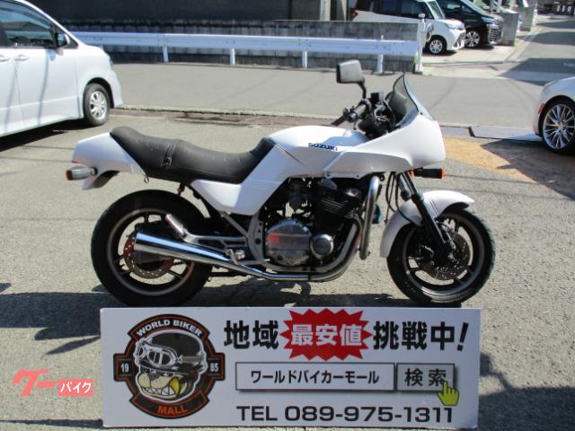 スズキ GSX750E エンジンガード付きの画像(愛媛県