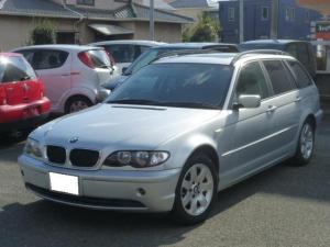 BMW 3シリーズ 318iツーリング サンルーフ メモリーナビ 純正アルミ