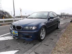 BMW 3シリーズ 318i Mスポーツ Mスポーツパッケージ!! トパーズブルー!! 5速MT!! 革シート!!  社外マフラー!!