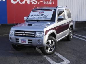 三菱 パジェロミニ エクシード 副変速機付き 4WDターボ CD ルーフレール