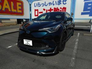 トヨタ C-HR G モード ネロ  SDDナビフルセグTV モデリスタエアロ