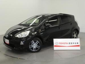 トヨタ アクア G ワンオーナー・フルセグ付SDナビ・社外アルミ