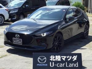 マツダ MAZDA3ファストバック Xプロアクティブ ツーリングセレクション 4WD 試乗車UP