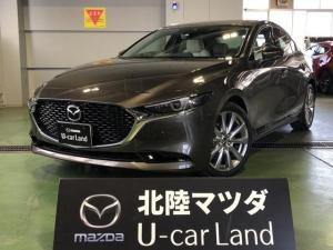 マツダ MAZDA3セダン XD Lパッケージ ディーゼルターボ 4WD 白革シート