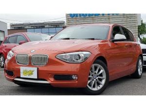 BMW 1シリーズ 116i スタイル スマートキー プッシュスタート 純正ナビ