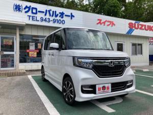 ホンダ N-BOXカスタム G・Lホンダセンシング 2WD CVT 届け出済み未使用車 即納車可能