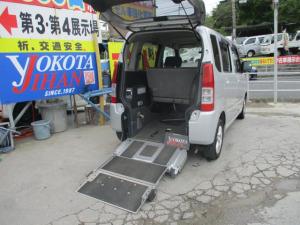 スズキ ワゴンR  スロープ式福祉車両