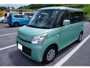 スズキ スペーシア G 社外Bluetooth対応ナビ スライドドア ETC車載器 プッシュスタート アイドリングストップ機能