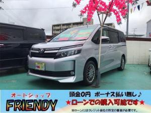 トヨタ ヴォクシー ハイブリッドV(本土仕入・修復歴無し)