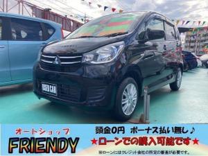三菱 eKワゴン E 純正ナビ フルセグTV Bluetooth シートヒーター プライバシーガラス ライトレベライザー キーレス
