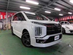 三菱 デリカD:5 アーバンギア G パワーパッケージ ・Dターボ・4WD・LEDヘッドライト・ツインパワードア