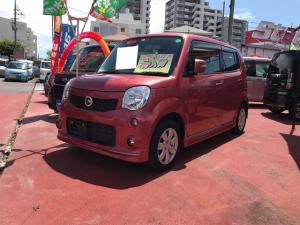 日産 モコ G ABS ベンチシート ターボ ETC スマートキー オートエアコン CD