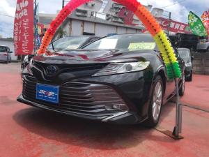 トヨタ カムリ G アイドリングストップ 電動シート スマートキ- イモビライザー ABS
