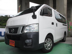 日産 NV350キャラバンワゴン DX 送迎車 オートステップ ワンオーナー車