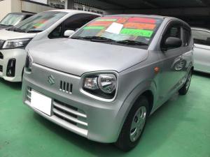 スズキ アルト L 軽自動車 シルキーシルバーメタリック CVT AC