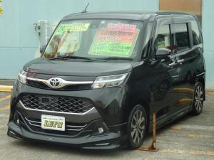 トヨタ タンク カスタムG-T モデリスタエアロ・9インチワイドモニターナビ・TV