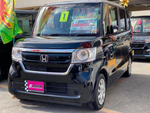 ホンダ N-BOX G・Lホンダセンシング ナビ パワースライドドア ワンセグTV プッシュスタート スマートキー レーダーブレーキサポート クルーズコントロール アイドリングストップ セキュリティーアラーム