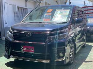 トヨタ ヴォクシー ZS 両側パワースライドドア フルセグTV ナビ プッシュスタート LEDライト 三列シート 純正フルエアロ 純正アルミ フォグランプ ETC バックカメラ