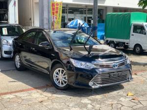 トヨタ カムリ ハイブリッド プッシュスタート 社外ナビ 本土無事故車